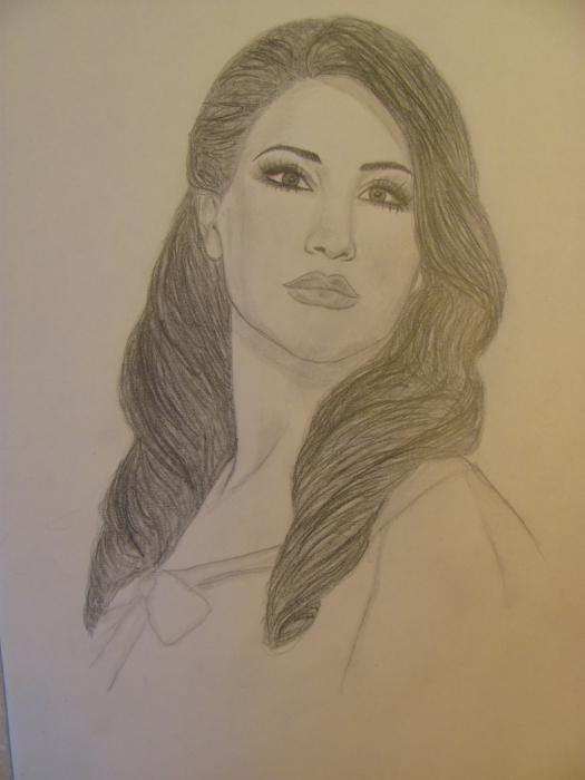 Najwa Karam por AmirasArt
